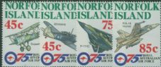 NFI SG615-8 75th Anniversary of Royal Australian Air Force set of 4